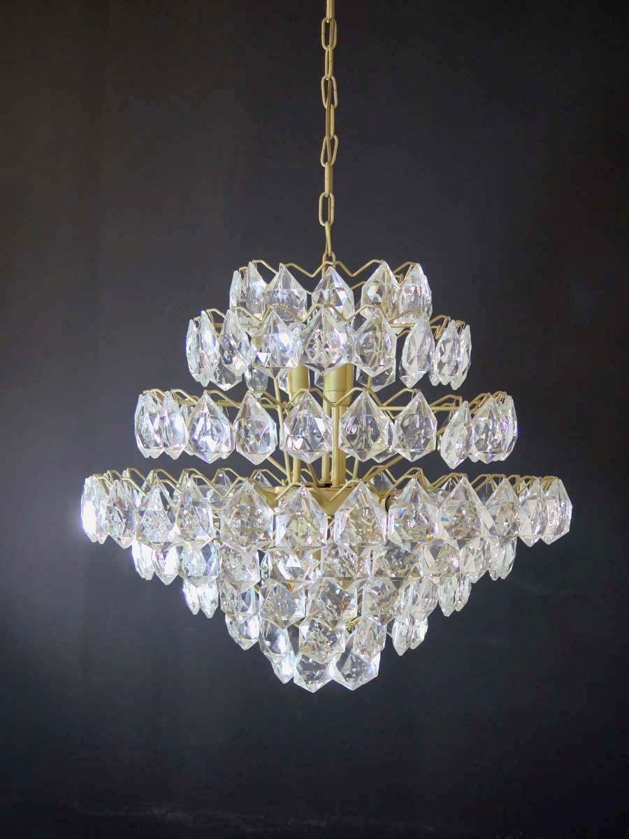Gaetano Sciolari Crystal Drops Chandelier </div>                                   </div> </div>       </div>                  <div style=