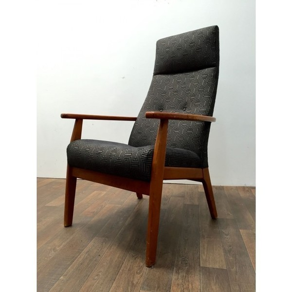 Parker Knoll Armchair In Charcoal