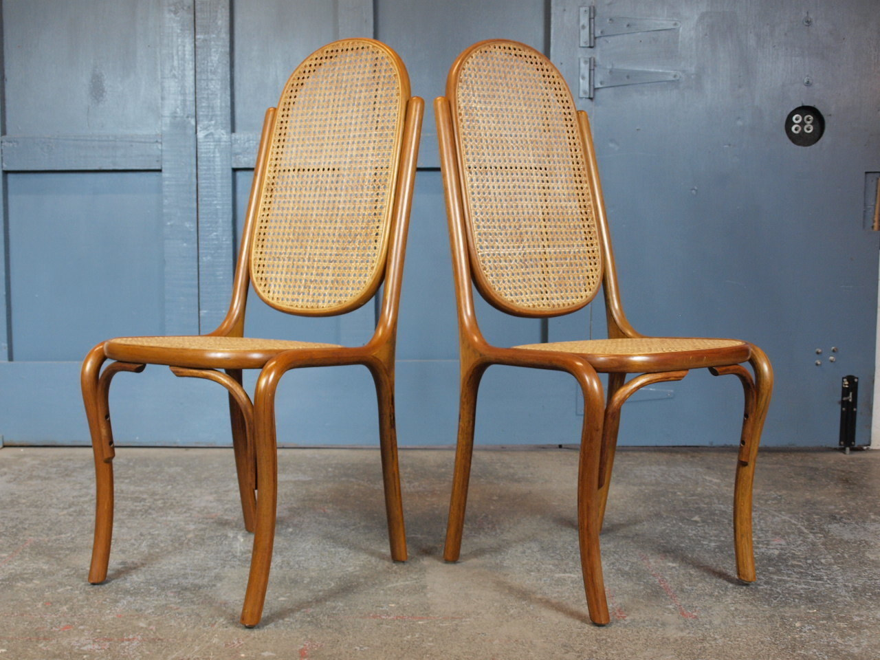 Astonishing Pair Of Mid Century Vintage 1970S Bentwood Bergere French Style Dining Chairs Download Free Architecture Designs Rallybritishbridgeorg