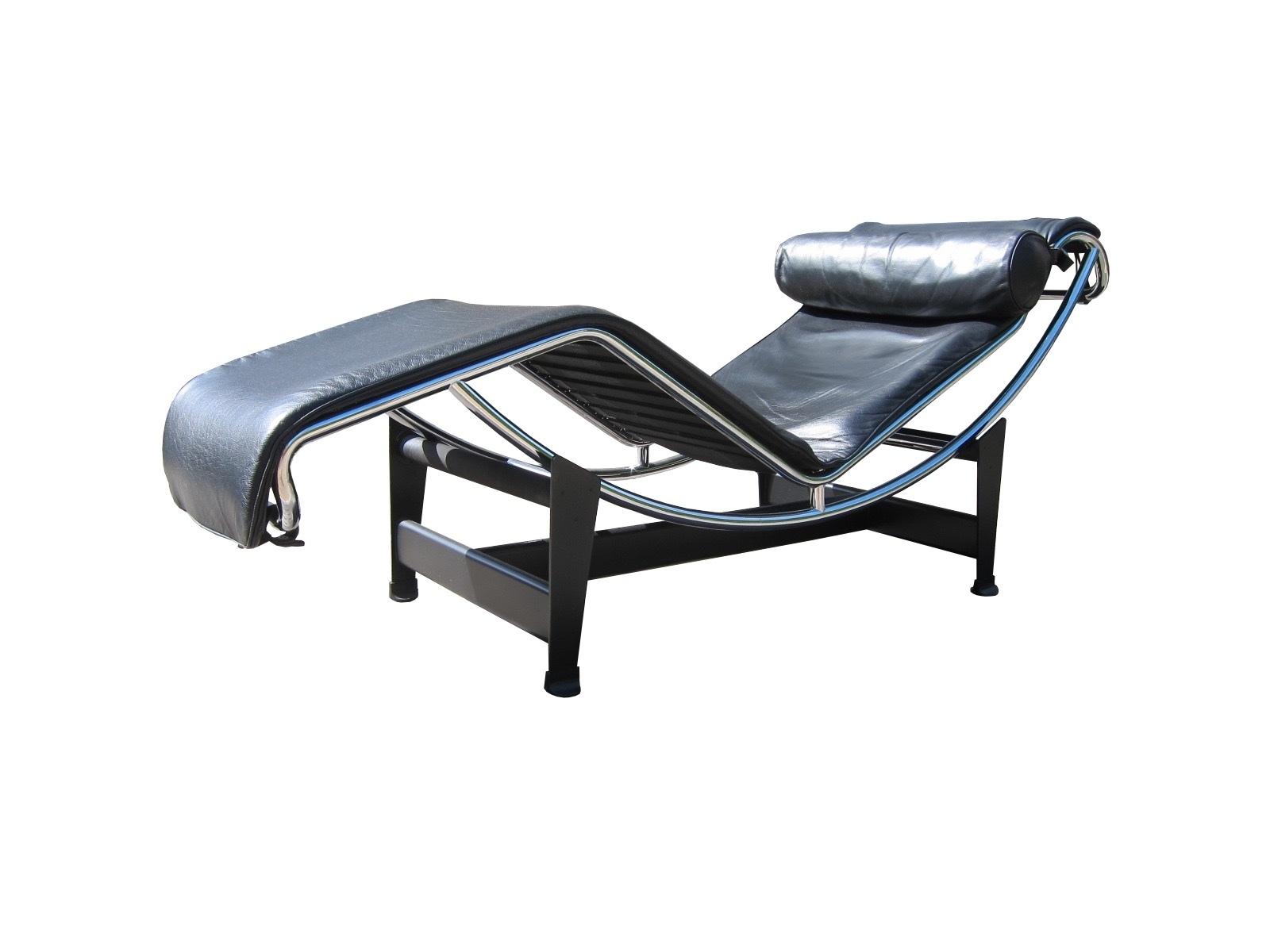 Cassina Lc4 Chaise Longue Le Corbusier Vintage Design