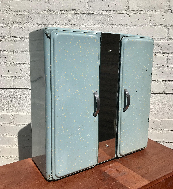 Vintage Bathroom Medicine Cabinet Metal 800 Vinterior