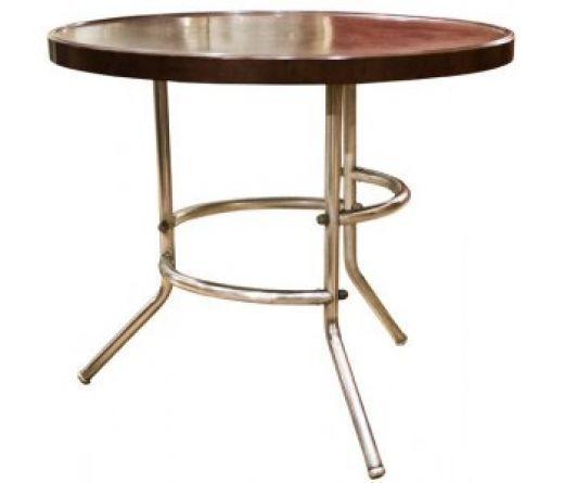 Art Deco Bakelite And Chrome Table photo 1