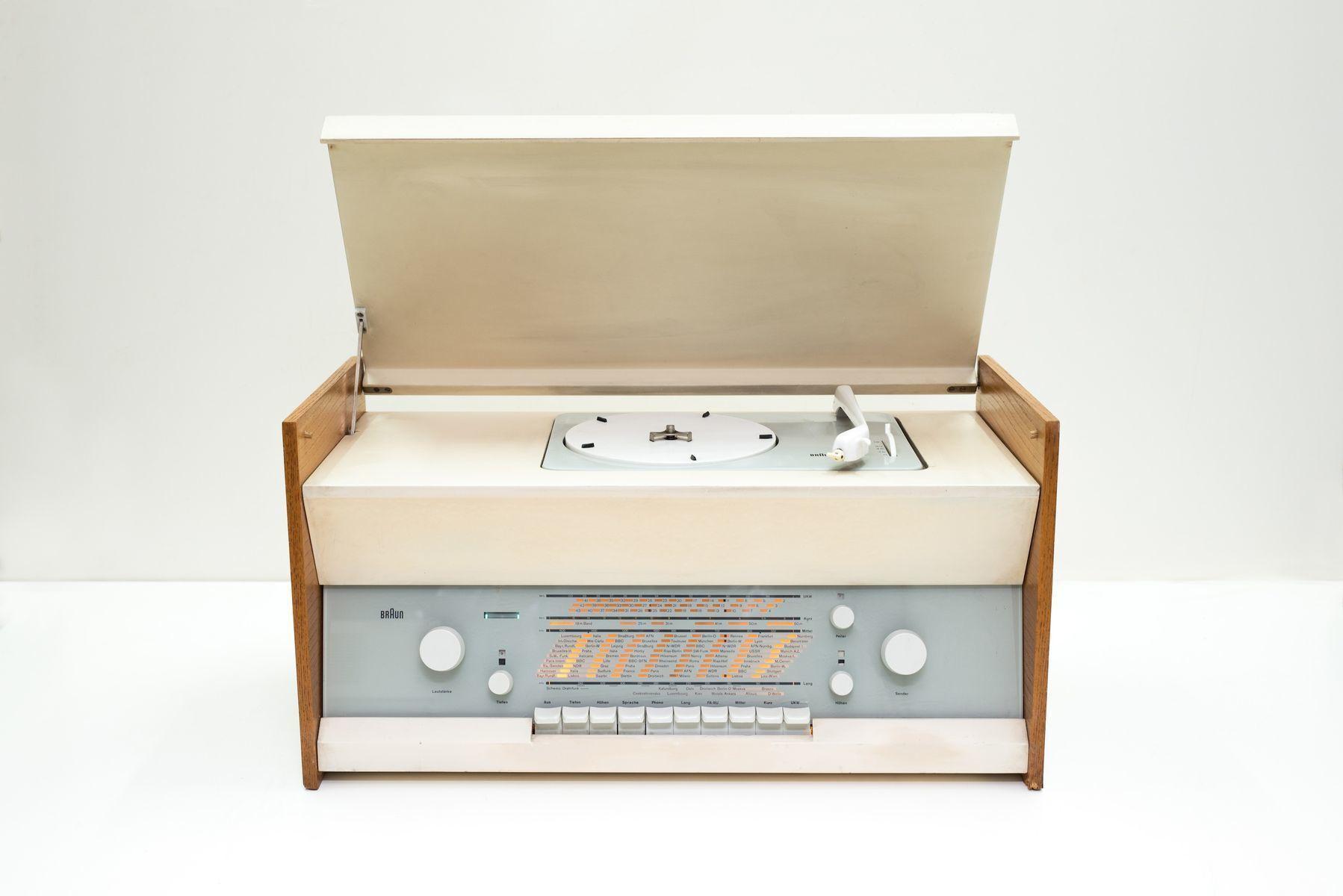Series Atelier 1 81 Turntable By Dieter Rams For Braun, 1961