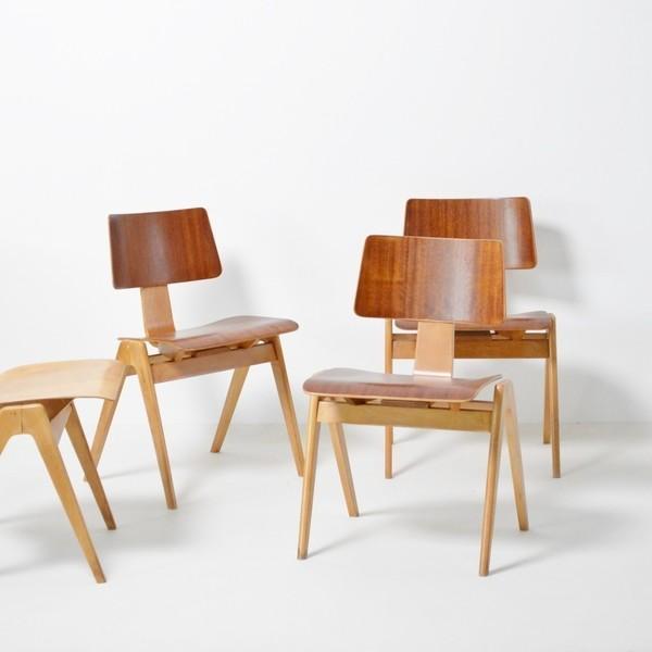 5 Robin Day Hillestak Chairs