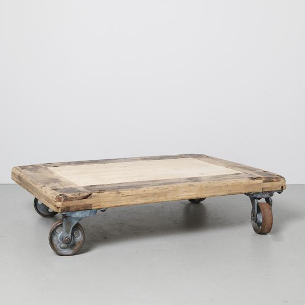 Industrial Coffee Table Wheels
