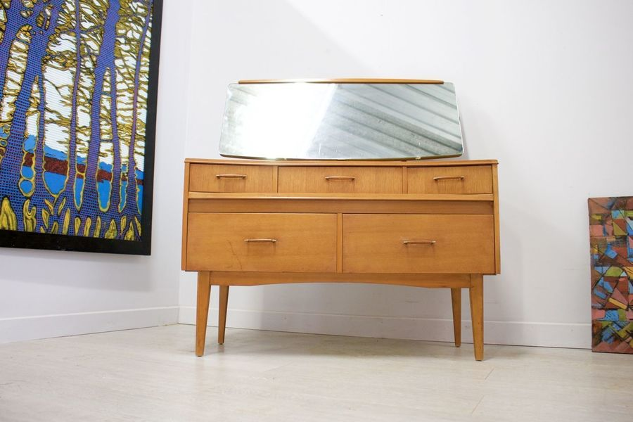 premium selection af780 1a923 Delivery £50 Mid Century Retro Vintage Oak Lebus Dressing Table / Sideboard