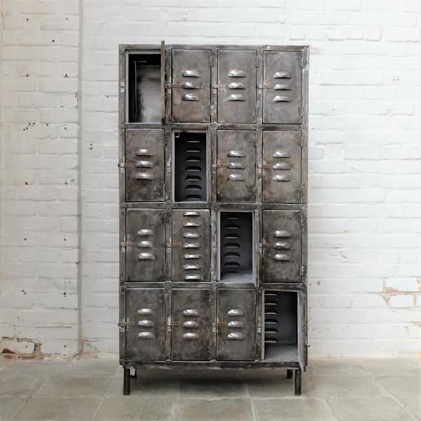 Industrial Polished Locker