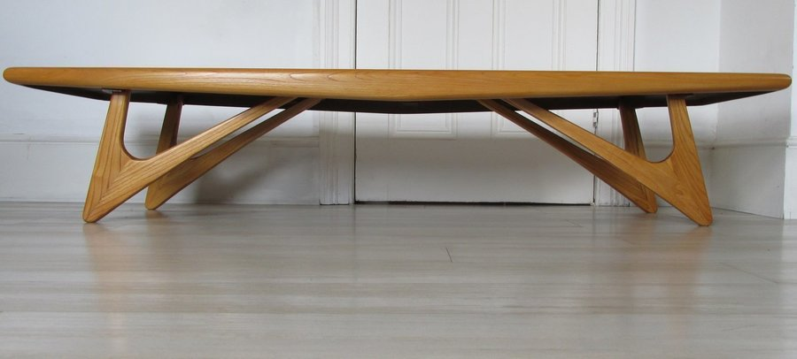 American Large Sculptured Coffee Table Adrian Pearsall