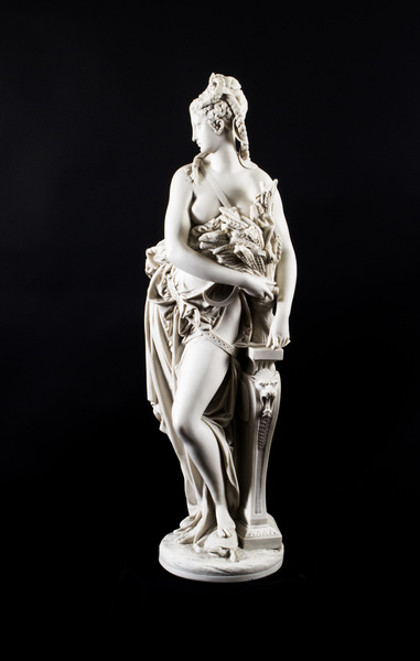 Stunning Classical Lady Marble Figure photo 1