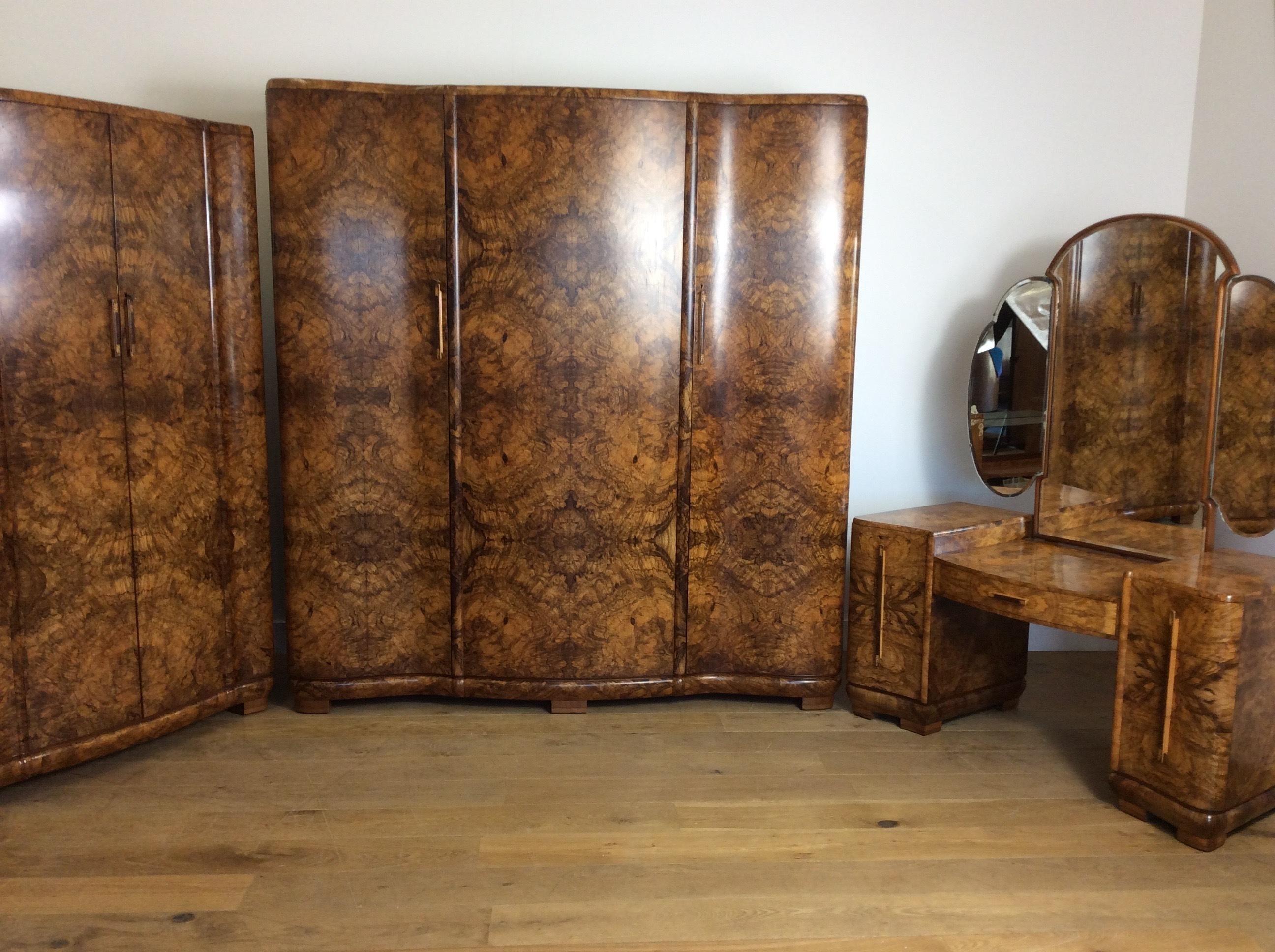 Art Deco Bedroom Suite Vinterior