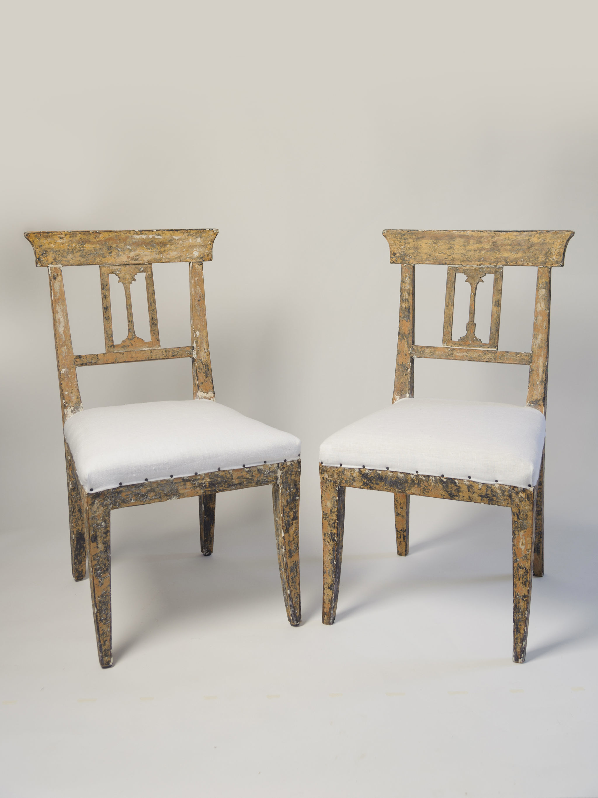 Antique Swedish Gustavian Chairs Vinterior