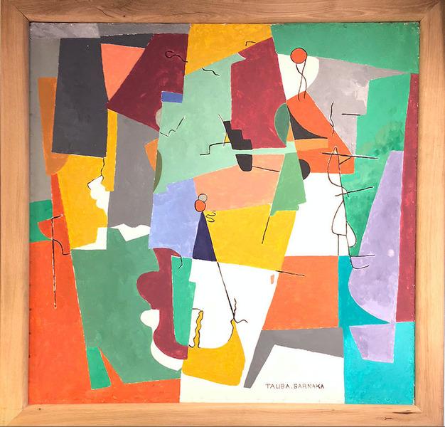 Acrylic On Canvas, Single Artwork