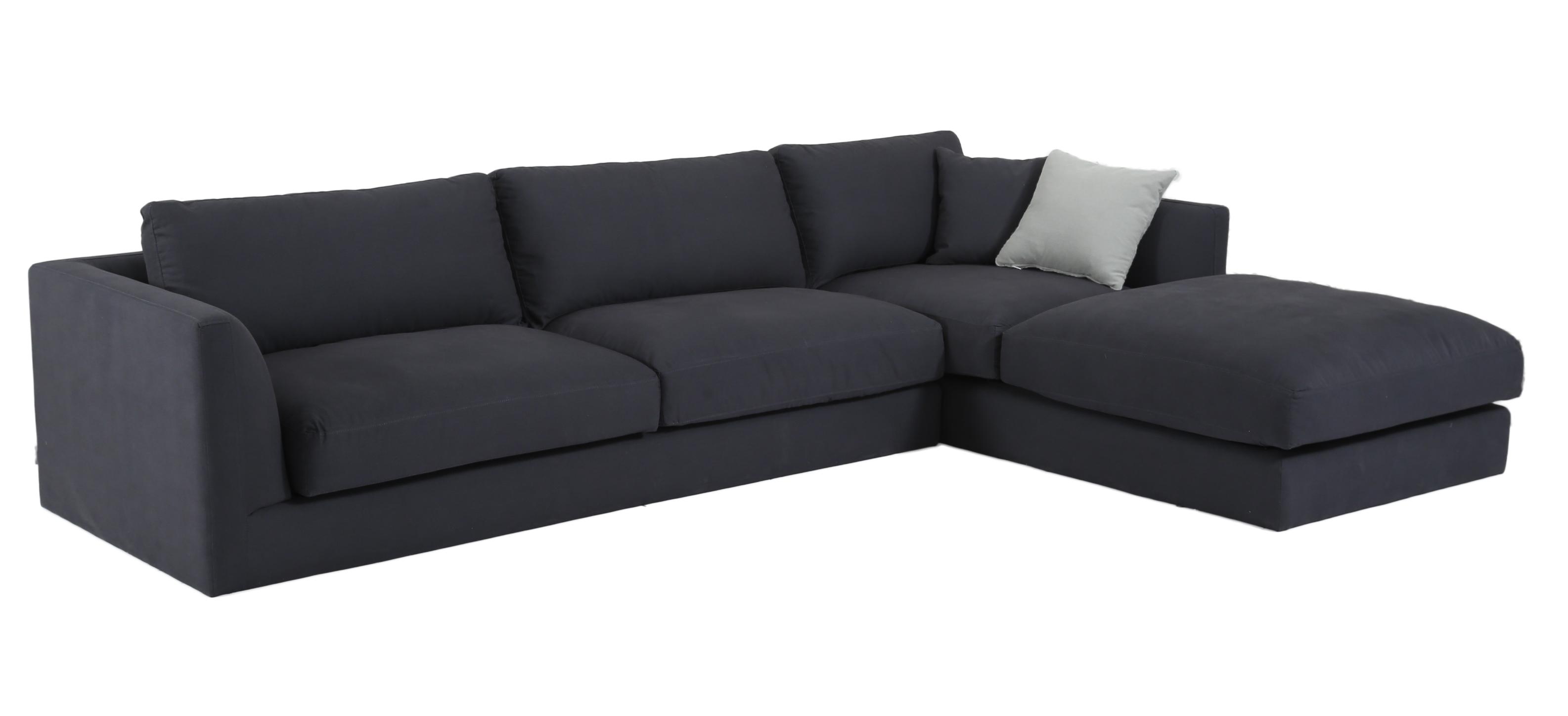 Fantastic 2018 New Large Right Or Left Modular Corner Sofa Dark Grey 3 4 Seater Sofa Made To Order Home Interior And Landscaping Mentranervesignezvosmurscom