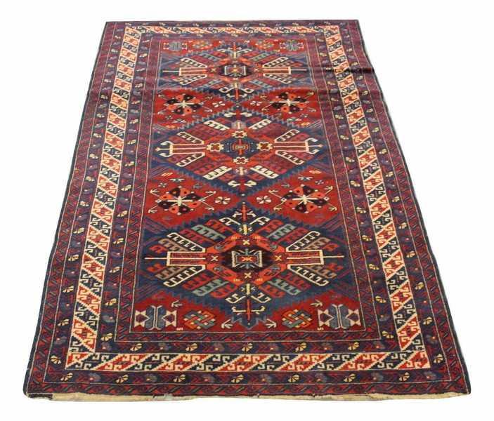 Caucasian Wool Rug The Bazaar Uk