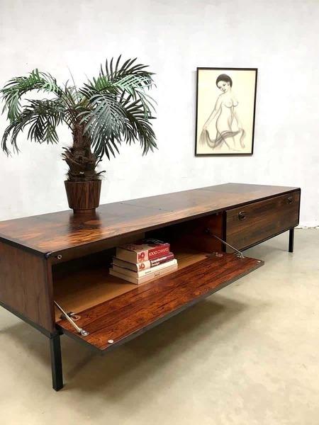 Vintage Design Rosewood Rosewood Lowboard Cabinet Sideboard Xxl