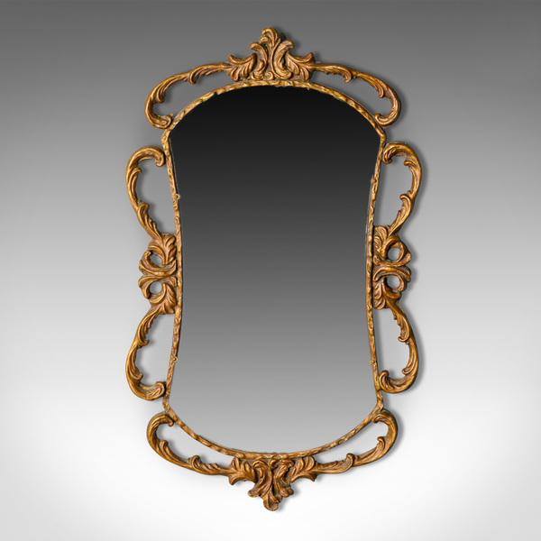 Antique Wall Mirror, English, Victorian, Gilt Gesso, Classical Taste, Circa 1880