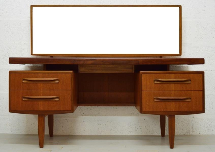 Mid Century Teak Fresco Dressing Table/Desk By G Plan
