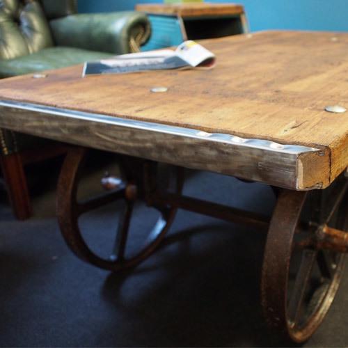 Beer Barrel Trolley Coffee Table