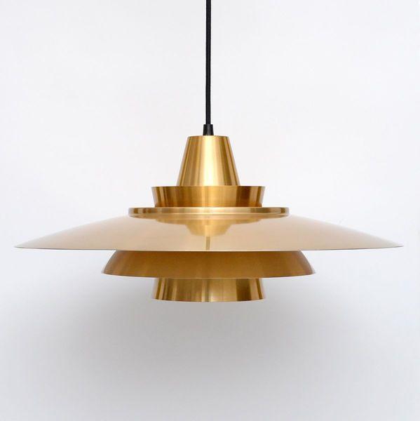 Danish Pendant Mid Century Lamp 1970's