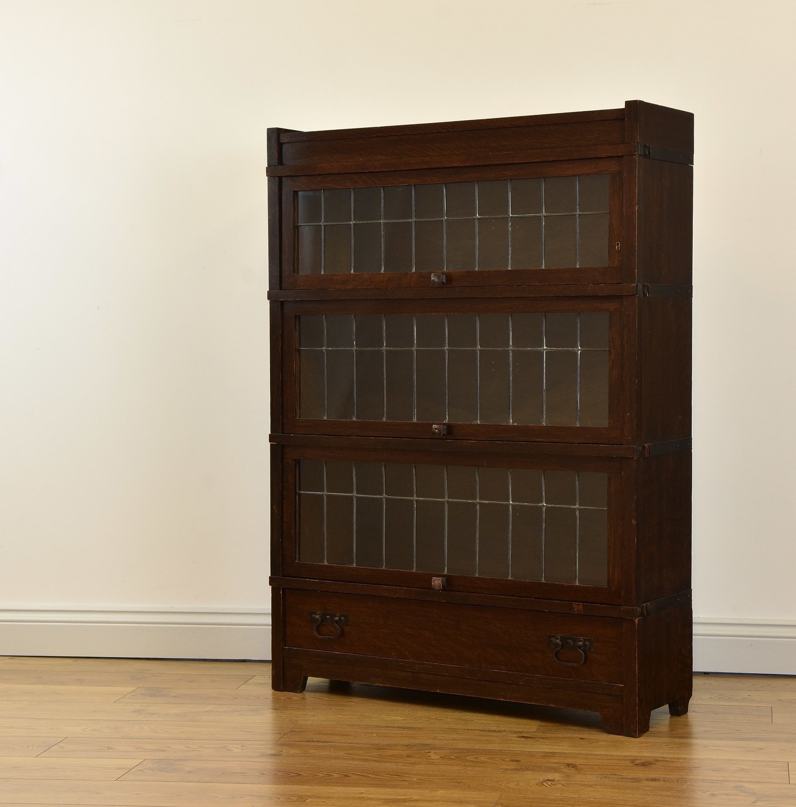 Arts Crafts Globe Wernicke American Mission Bookcase Antique Free Delivery To Mainland England Wales