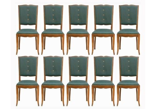 Ten Art Deco Dining Chairs French Moustache Back To Resto