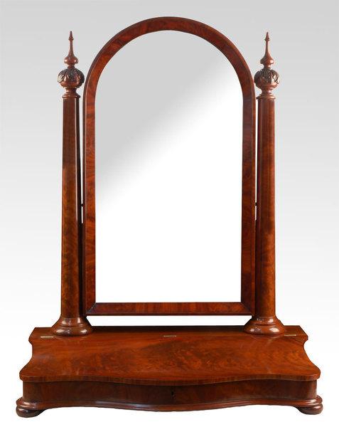 the latest 68fc2 aaf51 Victorian Mahogany Dressing Table Mirror Circa 1870