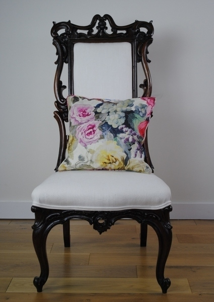 Antique Victorian Rosewood Hall Chair