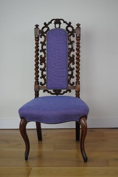 Victorian Walnut Hall Chair