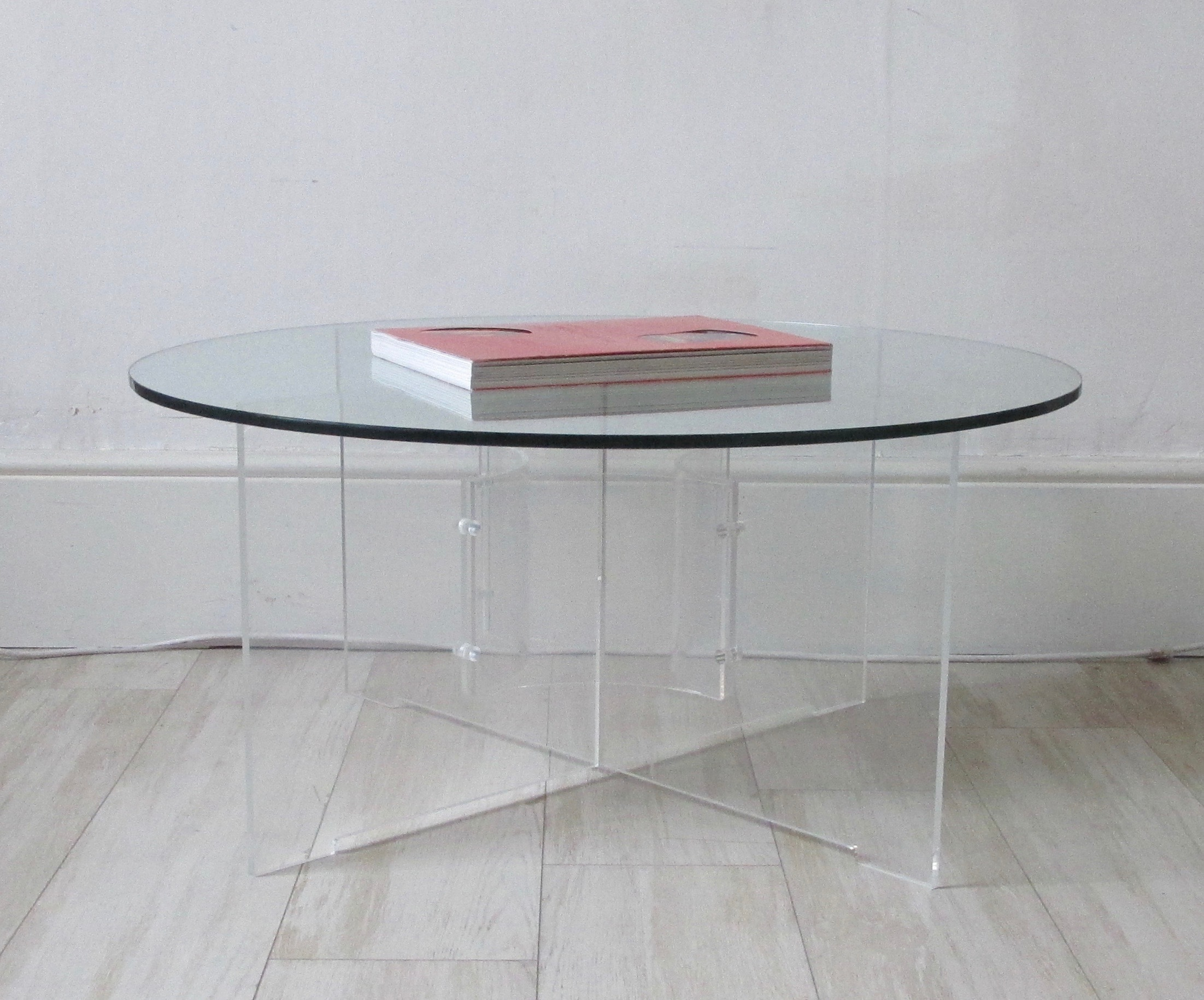 Lucite Coffee Table.American Lucite Coffee Table 70 S H Jones Era