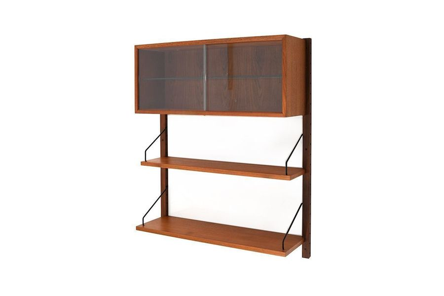 cheap for discount 7d68f 7e96c Small Mid Century Royal System In Teak By Poul Cadovius For Cado