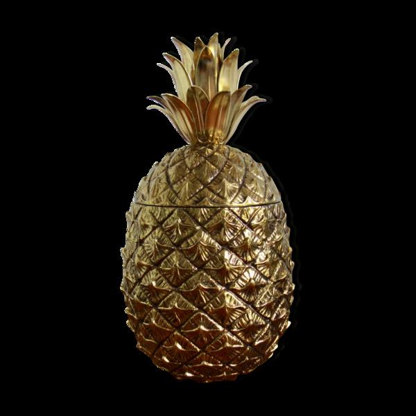 Mauro Manetti, Ice, Golden Pineapple Bucket