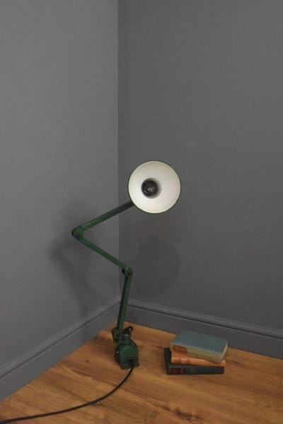 Green Machinist Lamp