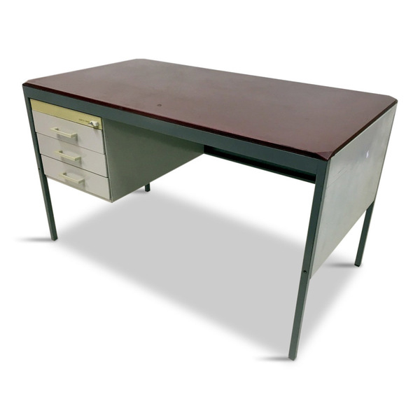 1980s Italian Desk By Olivetti Synthesis