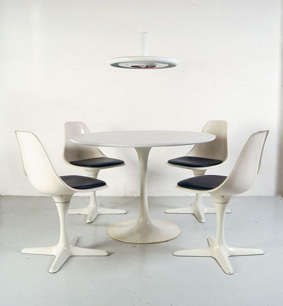 Space Age Dining Room Set By Maurice Burke For Arkana, 1960s
