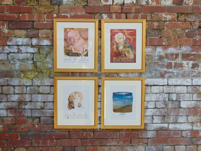 Set Of Four Original 40s Prints