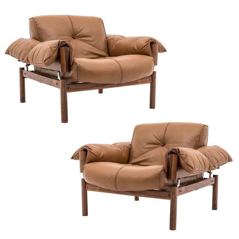 Remarkable Mid Century Brazilian Lounge Chairs In Leather Rosewood By Percival Lafer Set Of 2 Ibusinesslaw Wood Chair Design Ideas Ibusinesslaworg