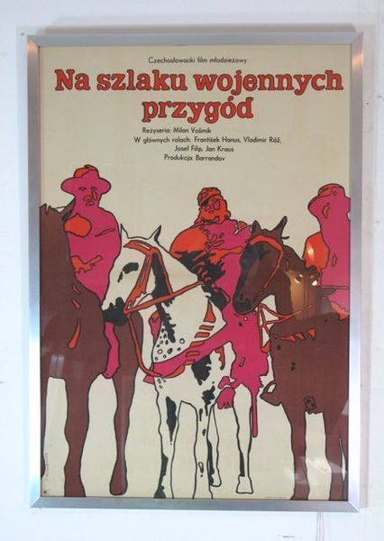 Original Framed Polish Poster