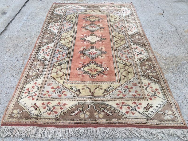 John Lewis Handmade Turkish Rug 271x162cm Veg Dye Persian Afghan Chobi