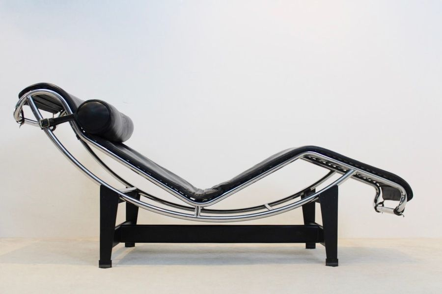 Fine Lc4 Chaise Lounge By Le Corbusier Pierre Jeanneret Charlotte Perriand For Cassina 1970S Inzonedesignstudio Interior Chair Design Inzonedesignstudiocom