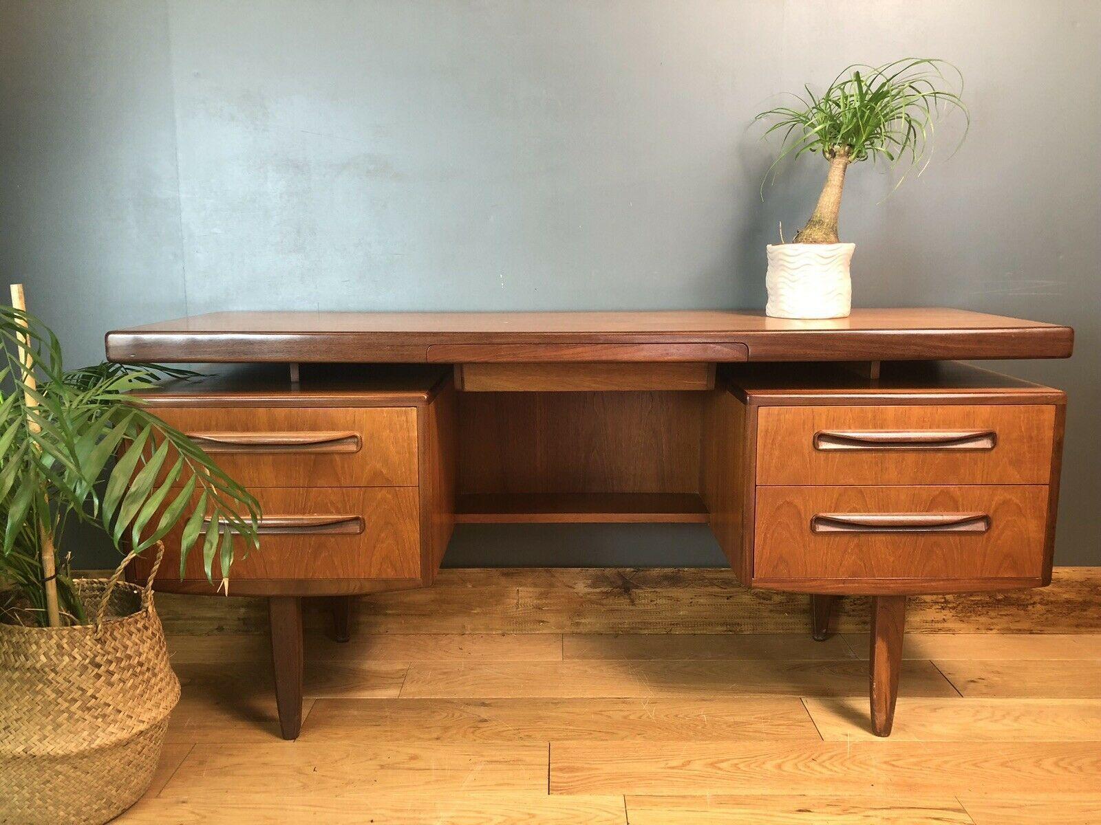 vintage g plan floating shelf desk dressing table mid century sideboard retro 0