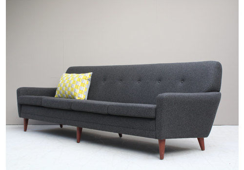 5a3d87bff902 Restored Danish Midcentury 1960s Dux Four Seater Sofa.
