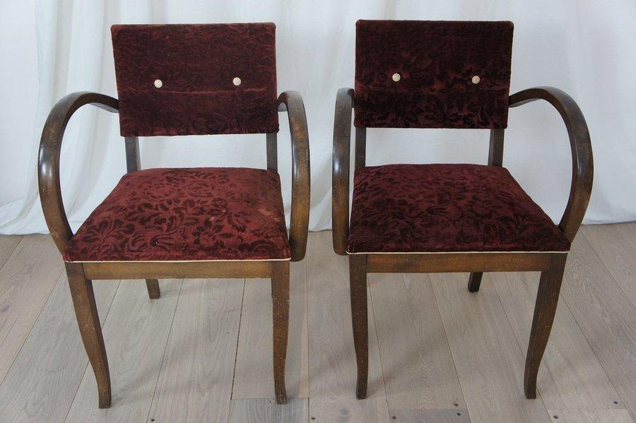 Pair Bridge Chairs photo 1