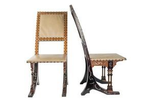 Thumb pair of chairs from carlo bugatti 1880 1890 0