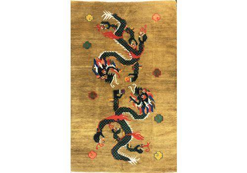 Vintage Tibetan Rug 2.00m X 1.25m