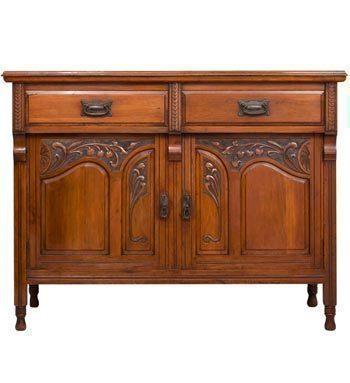 Art Nouveau Mahogany Sideboard photo 1