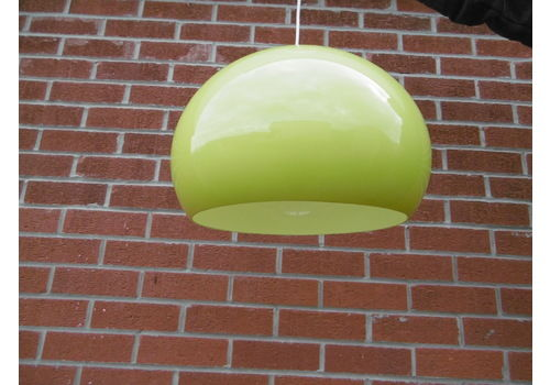 Retro Lime Green Lampshade