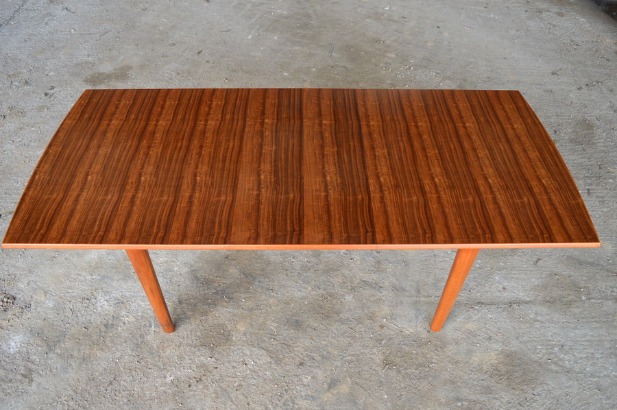 "Vintage Gordon Russell: Extendable ""Camden"" Dining Table"