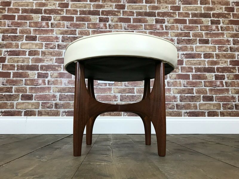 Immaculate Vintage G Plan Stool   Retro Teak Footstool Ottoman Table Chair Seat photo 1