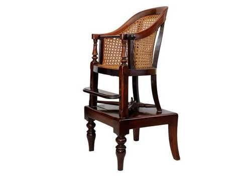 English George II I Late 18 Th C. Mahogany Childs Chair And Table Circa 1790