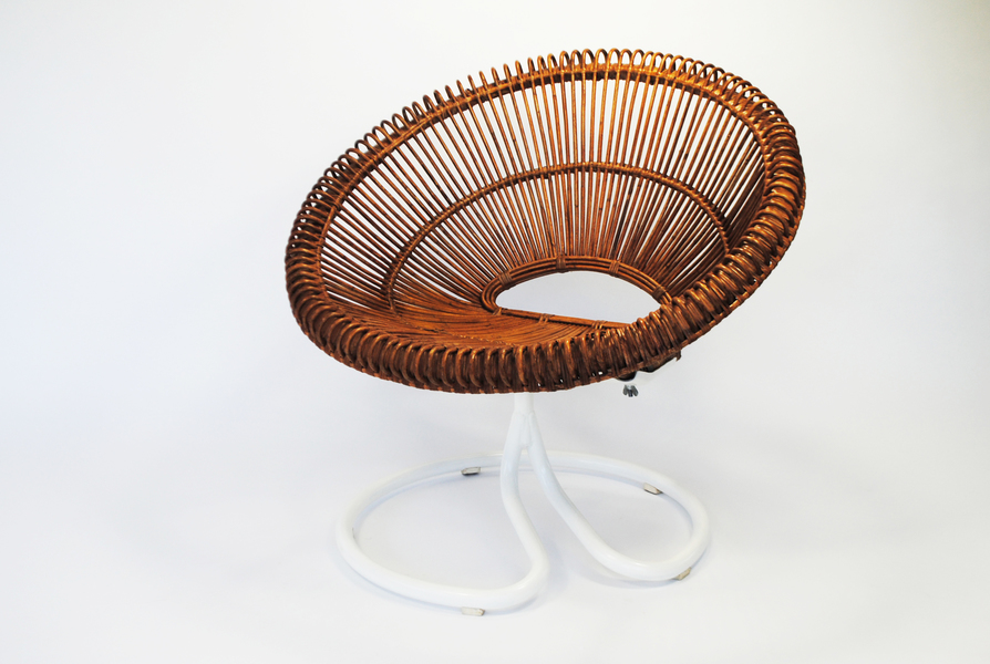 Janine Abraham & Dirk Jan Rol Rattan Chair